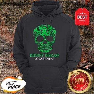 Official Skull Kidney Disease Awareness Hoodie