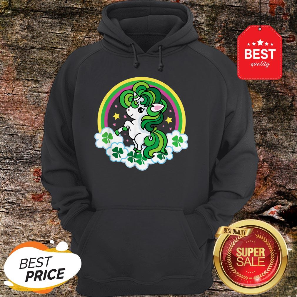 Official Unicorn St Patricks Day Irish Hoodie