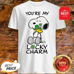Official Peanuts St. Patrick's Snoopy Lucky Shirt