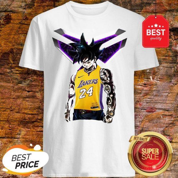 Official Songoku Kobe Bryant Logo Shirt