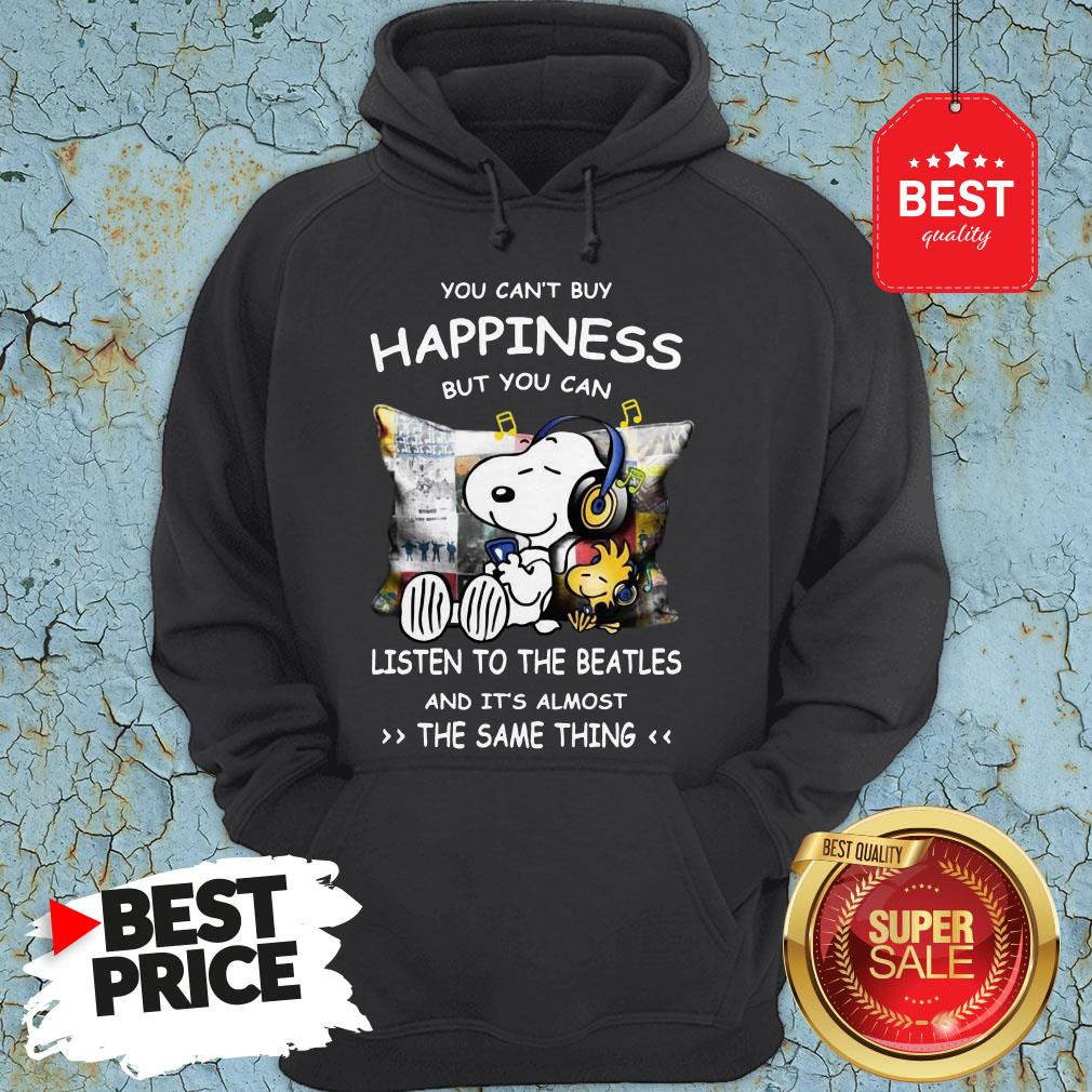 Snoopy You Can't Buy Happiness But You Can Listen To Pink Floyd Hoodie