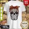 Sugar Skull Motor Harley Davidson Cycles Shirt