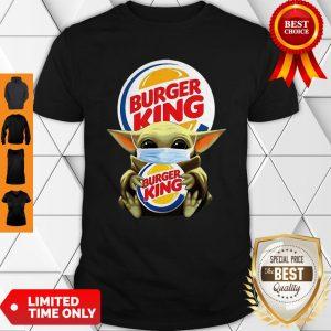 Star Wars Baby Yoda Mask Hug Burger King COVID-19 Shirt