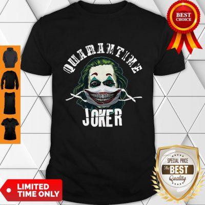 Joaquin Phoenix Quaeantine Joker Coronavirus Shirt