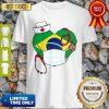 Official Nurse Brazil Heart Shirt