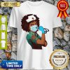 Official Strong Women Black Nurse Shirt