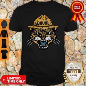 Jacksonville Jaguars Duval Smokey The Jaguar Shirt