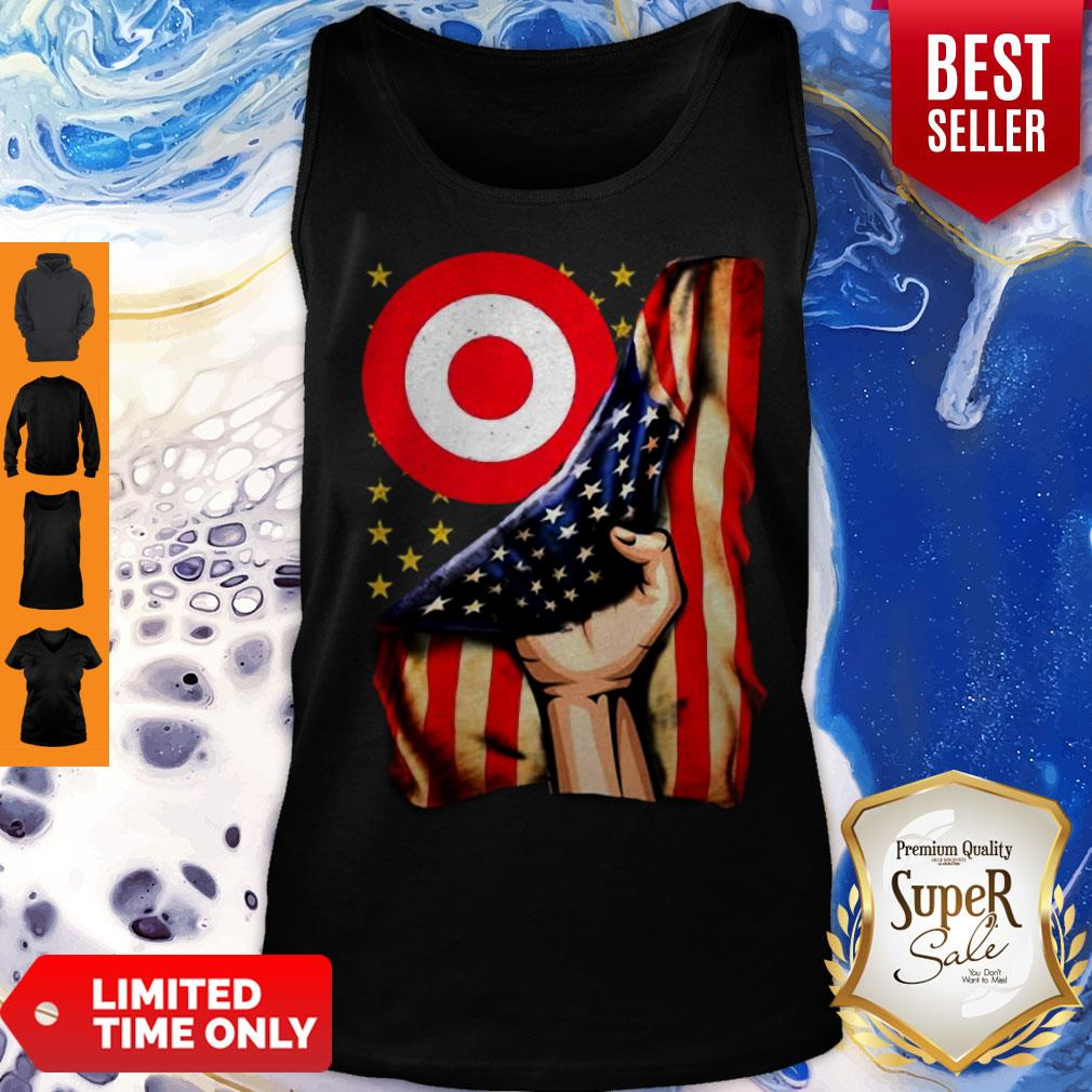 Target American Flag Independence Day Tank Top