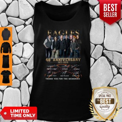 Eagles 49th Anniversary 1971 2020 Signature Thank You For The Memories Tank Top