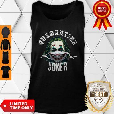 Joaquin Phoenix Quaeantine Joker Coronavirus Tank Top