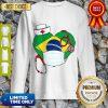 Official Nurse Brazil Heart Sweatshirt
