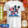 Nice Mickey And Minnie Quarantined Shirt