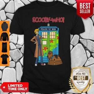 Good Scooby Who Police Box Shirt