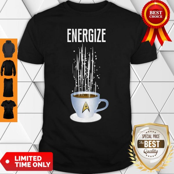 Premium Energize Coffee Star Trek Shirt
