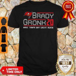 Top Brady Gronk 2020 Make Tampa Bay Great Again Shirt