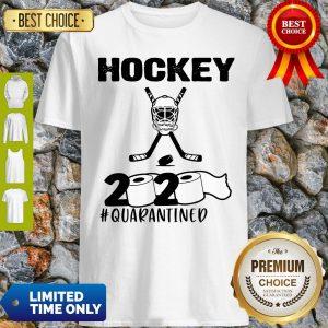 Awesome Hockey 2020 Quarantined Coronavirus Shirt