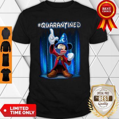 Awesome Mickey Mouse Quarantined Coronavirus Shirt