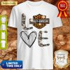 Official Love Motor Harley Davidson Cycles Shirt