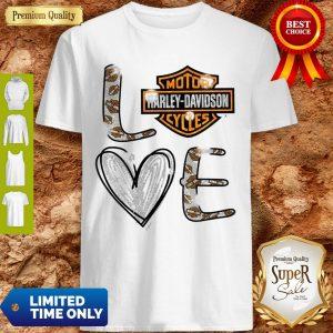 Official Love Motor Harley Davidson Cycles Shirt