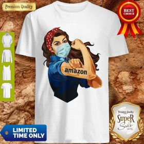 Official Strong Woman Mask Tattoo Amazon Shirt