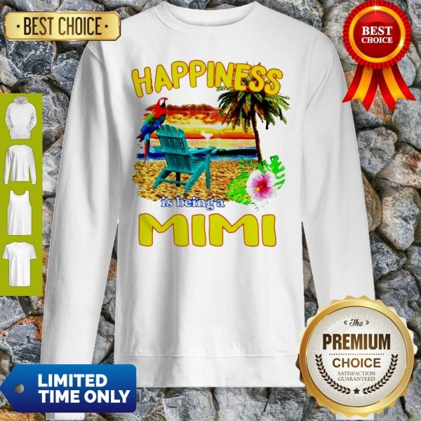 Cute Sunset Happiness Is Being A Mimi Sweatshirt