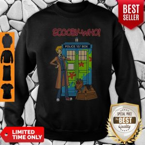 Good Scooby Who Police Box Sweatshirt