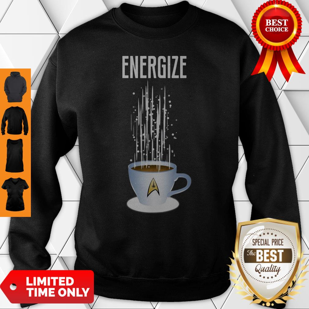 Premium Energize Coffee Star Trek Sweatshirt