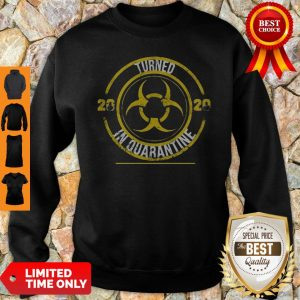 Biohazard Symbol Turned 2020 In Quarantined Mask COVID-19 Sweatshirt