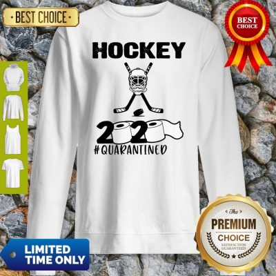 Awesome Hockey 2020 Quarantined Coronavirus Sweatshirt