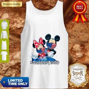 Nice Mickey And Minnie Quarantined Tank Top