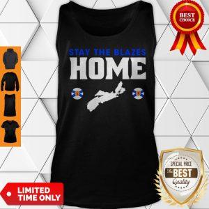 Nova Scotia Baseball Stay The Blazes Home Tank Top