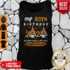 My 50th Birthday 2020 The Year When Sh#t Got Real Quarantined Tiger King Funny Joe Exotic Birthday Tee Tank Top