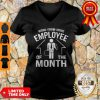 Work From Home Employee Of The Month 2020 Quarantined V-Neck
