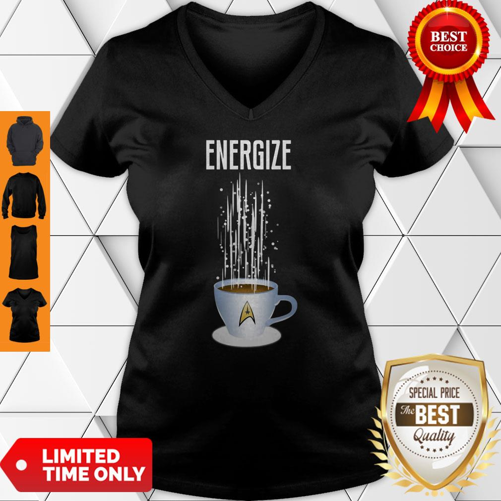Premium Energize Coffee Star Trek V-Neck