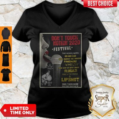 Pretty Don't Touch Nothin 2020 Festival The Headliners V-neck