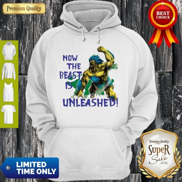 Awesome Beast Is Unleashed Street Fighter Hoodie