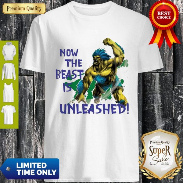 Awesome Beast Is Unleashed Street Fighter Shirt