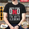 Dad The Man The Myth Legend Nebraska Cornhuskers Happy Father's Day Shirt