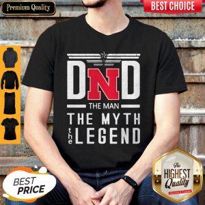 Dad The Man The Myth Legend Nebraska Cornhuskers Happy Father's Day Shirt