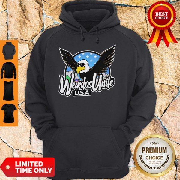 Official Eagles Weirdos Unite U.S.A Hoodie