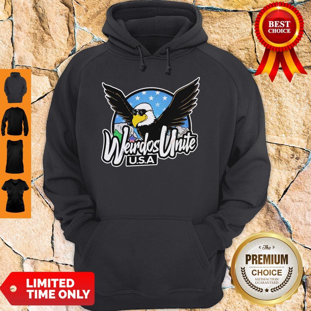 Official Eagles Weirdos Unite U.S.A Hoodie