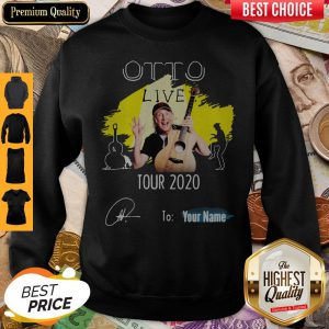 Otto Flimm Guitar Live Tour 2020 To Your Name Signatures Sweatshirt