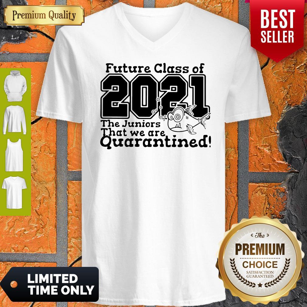 Pre Kindergarten Class Of 2021 Fish Digital Cutting File Pre-K Quarantine V-neck