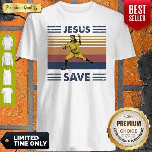 Premium Jesus Saves Baseball Vintage Shirt