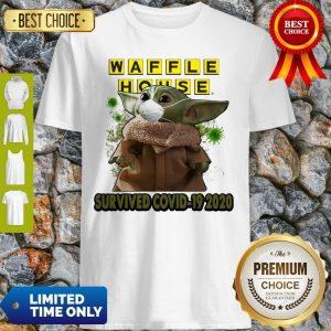 Baby Yoda Mask Waffle House Survived COVID-19 2020 Shirt
