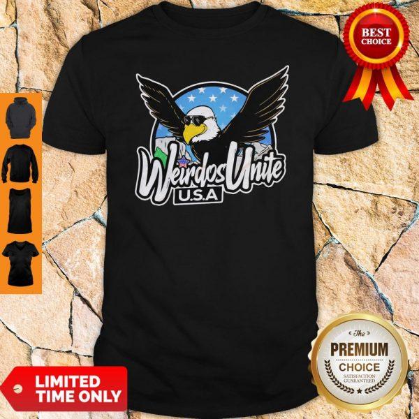 Official Eagles Weirdos Unite U.S.A Shirt