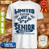 Limited Edition Class Of 2020 Toilet Paper Senior Quarantined The Year When Shit Got Real Shirt