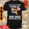 Strong Woman Face Mask I Can't Stay At Home I Work At Dairy Queen We Fight When Others Can't Shirt