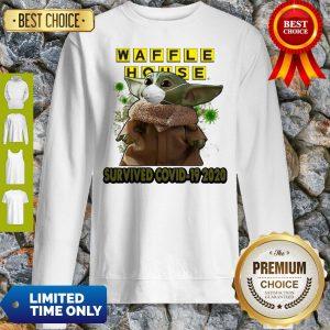 Baby Yoda Mask Waffle House Survived COVID-19 2020 Sweatshirt