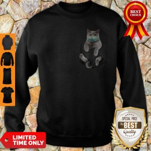 Top Cat Mask In Pocket Sweatshirt